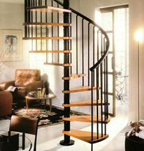 Spindeltreppe GAMIA WOOD