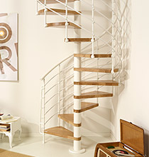 Spindeltreppe Oak 70 XTRA